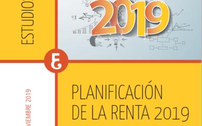 Planificación de la Renta 2019