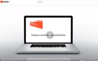 Vídeo-tutorial sobre como emitir y enviar facturas electrónicas