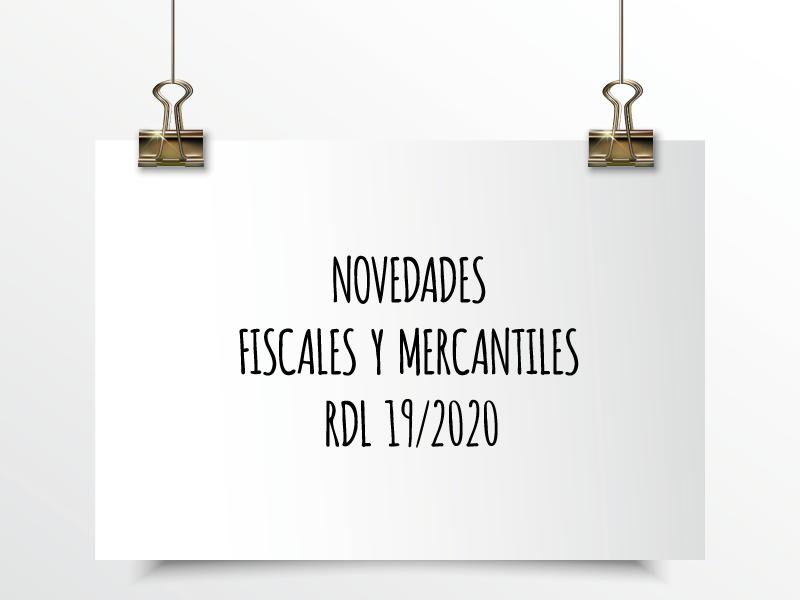 MEDIDAS FISCALES Y MERCANTILES