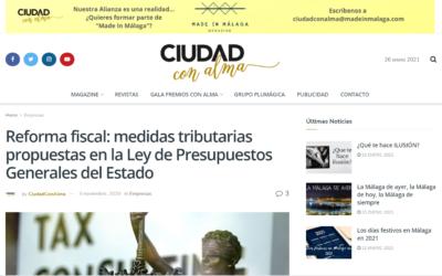 Reforma fiscal: medidas tributarias propuestas en la Ley de Presupuestos Generales del Estado – Ciudad con Alma