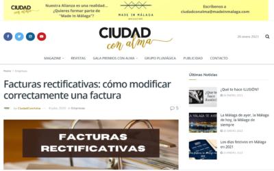 Facturas rectificativas: cómo modificar correctamente una factura – Ciudad con Alma