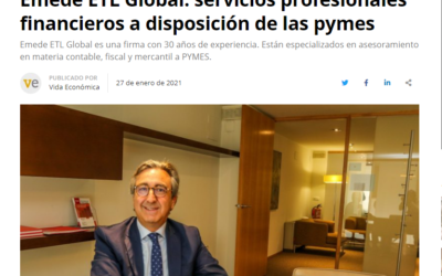 Emede ETL Global: servicios profesionales financieros a disposición de las pymes – Vida Económica