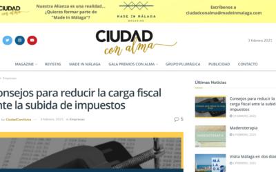 Consejos para reducir la carga fiscal ante la subida de impuestos – Ciudad con Alma