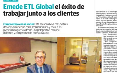 Emede ETL Global el éxito de trabajar junto a los clientes – Diario Sur