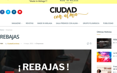 REBAJAS – Ciudad con Alma