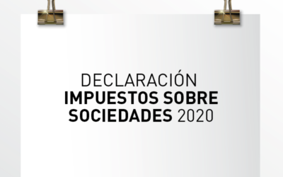 Nota de Aviso 14/2021. Declaración Impuestos sobre Sociedades 2020.
