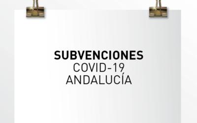 Nota de Aviso 12/2021. Subvenciones COVID-19 Andalucía.