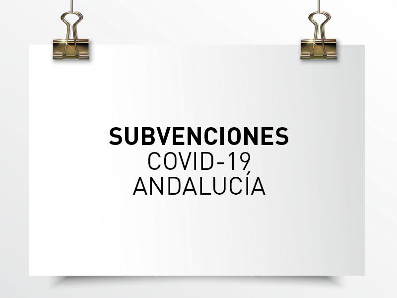 subvenciones covid