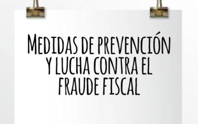 Nota de Aviso 15/2021. Medidas de prevención y lucha contra el fraude fiscal.